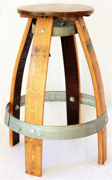 Wine Barrel Swivel Bar Stools by Best 25 Wine Barrel Bar Stools Ideas On Wine