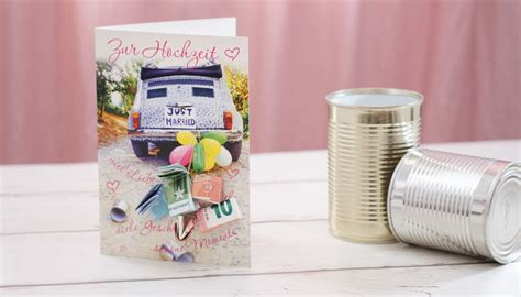 Postkarte Auto Just Married by Just Married Postkarte