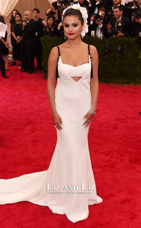 Sale Selena Dress By Gagil selena gomez white prom dresses 2015 met gala