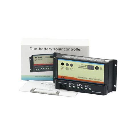 Controller 20a Epsolar 12 24 Vdc epsolar 20a dual battery charge controller 12 24v