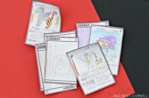 Make Your Own Pokemon Card Template diy cards free printable template and next comes l