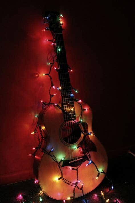 guitar christmas decorations rockin around the tree rock guitar rockin