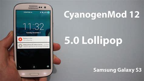 Samsung S3 Alpha Cyanogenmod 12 Rom For Galaxy S3 Alpha 4