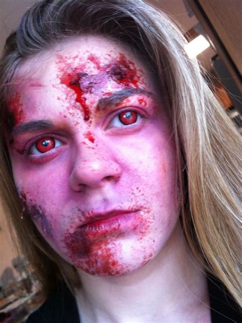 zombie tutorial ruby zombie wounds zombie costume ideas pinterest
