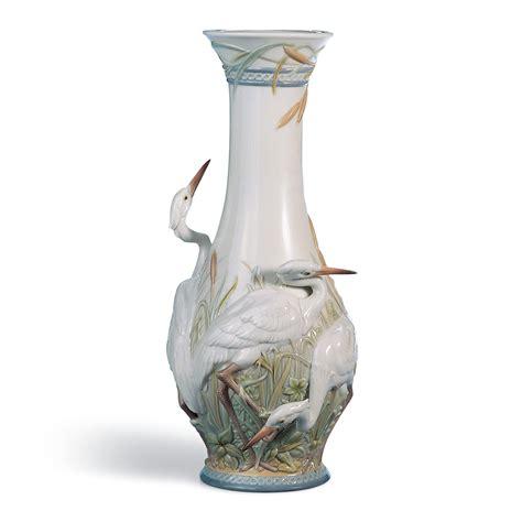 Lladro Vases heron s realm vase 01006881 lladro vase