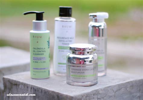 review bhumi oily acne prone series skincare