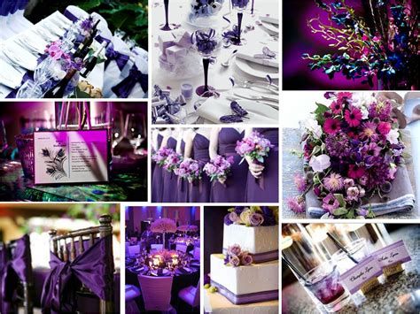 the color purple themes kiesya craft wedding colour theme