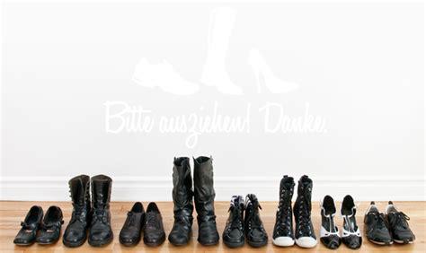Schuhe Ausziehen by Wandkings Wandtattoo Spruch Schuhe Bitte Ausziehen