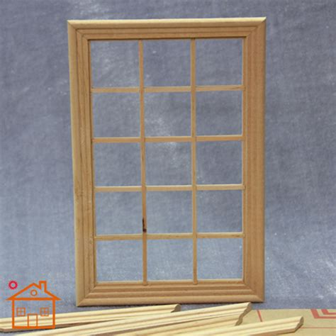 1 12 scale fashion doll playscale window 15 panes miniature dollhouse 1 12 scale