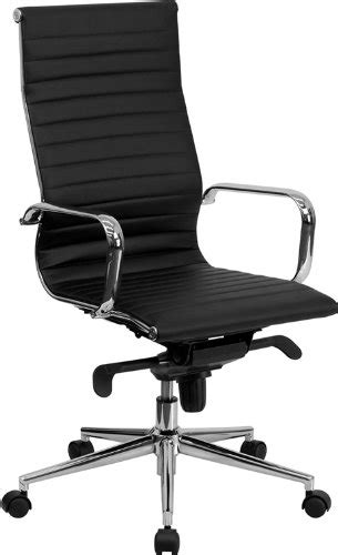 common office chair adjustments flash furniture high back black ribbed leather executive