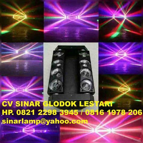 Lu Led Variasi Ruangan Taman 1 lu panggung spider light