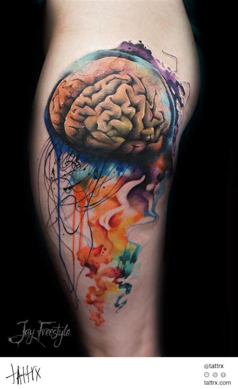 brain tattoo 26 brain ideas collection
