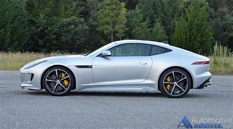 2016 jaguar f type r coupe side