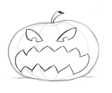 pumpkins to draw best photos of drawing pumpkin faces scary pumpkin faces
