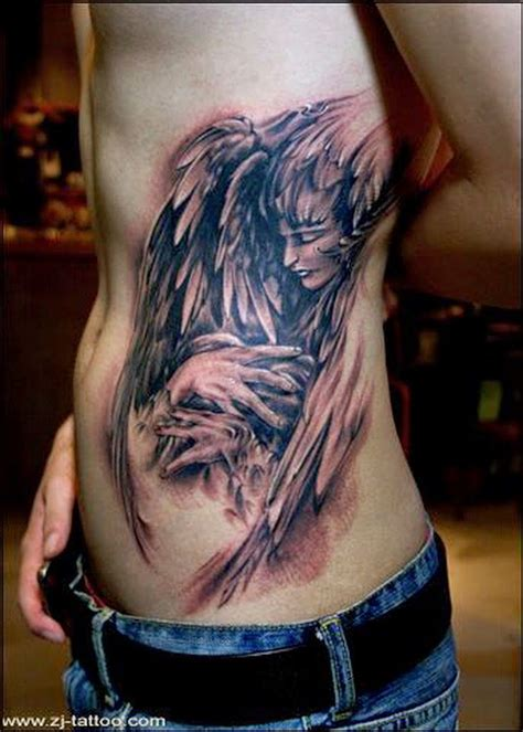angel tattoo side view 25 best images about okinawa tattoo design concepts on