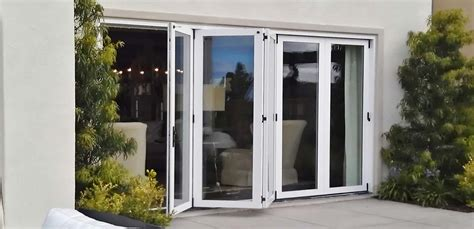 Exterior Bifold Doors Exterior Folding Doors By Windor Replacement Windows And Doors By Win Dor