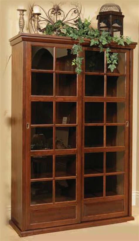 Sliding Door Display Cabinet Cheswyke Sliding Door Display Ohio Hardword Upholstered Furniture
