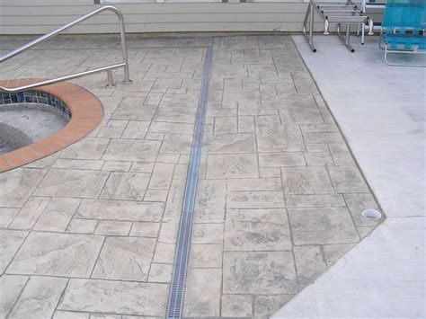 Pool Patio Drains by Design Patios Residential Drainage
