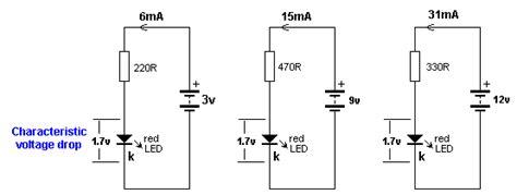 led resistor voltage drop world technical light emitting diode