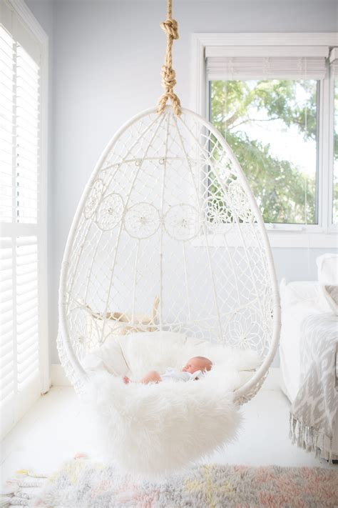 hanging chair decor living room