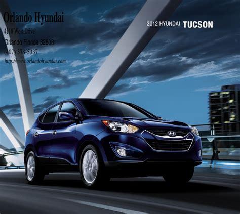 Hyundai Dealers In Orlando by 2012 Hyundai Tucson For Sale Fl Hyundai Dealer In Orlando