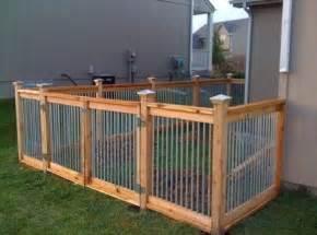 Baby Bunnies In Backyard - cedar and metal fence outdoor living pinterest pets puppys and metals