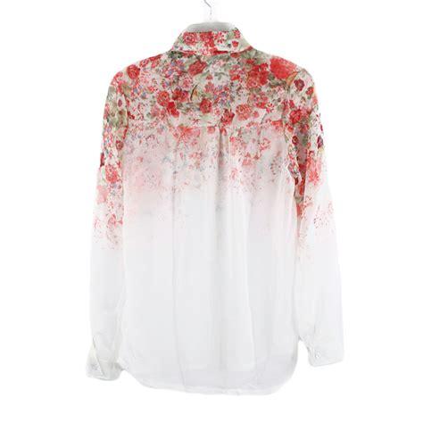 Kimono Blouse Navy Rok Flower flower shirt womens shirts rock