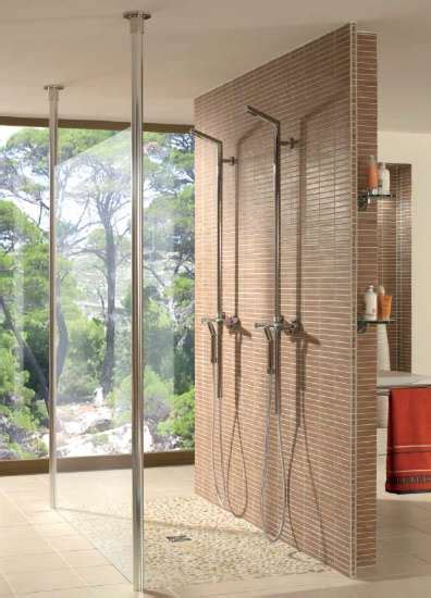 moderne glastüren ebenerdige dusche bauen raum und m 246 beldesign inspiration