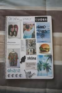 Make a tumblr collage notebookcollage notebooks schools notebooks diy