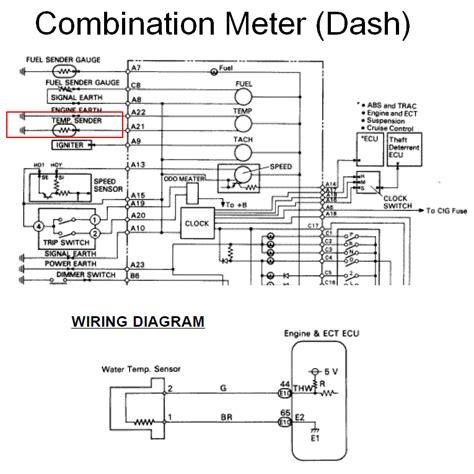 Diy Engine Coolant Temperature Sensor Replacement 2jzge