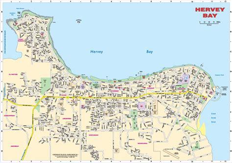 printable map hervey bay hervey bay maps my blog