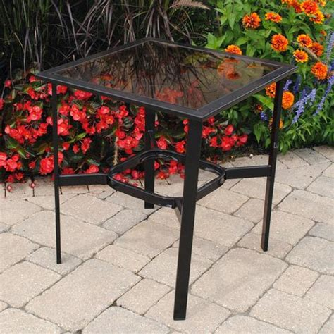 Backyard Creations Manhattan Table Backyard Creations Pacifica Side Table At Menards 174