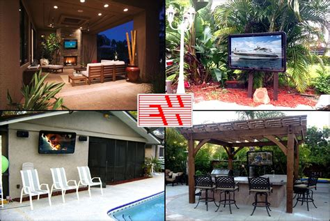 Outdoor Entertainment System - electronics world commercial audio visual services
