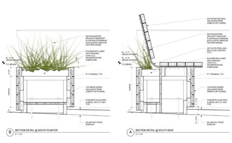 Planter Box With Bench Plans Noriega Street Parklet Is A Succulent Meeting Spot Crafted