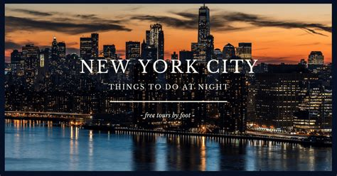 night   york city  tourists  visitors