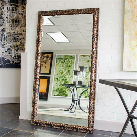 Home Decorative Stores by Custom Sized Framed Mirrors Bathroom Mirrors Large