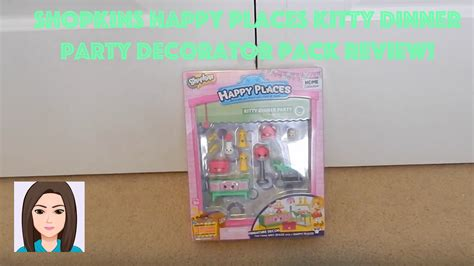 Shopkins Happy Places Dinner Decorator Pack Shopkins Happy Places Dinner Decorator Pack