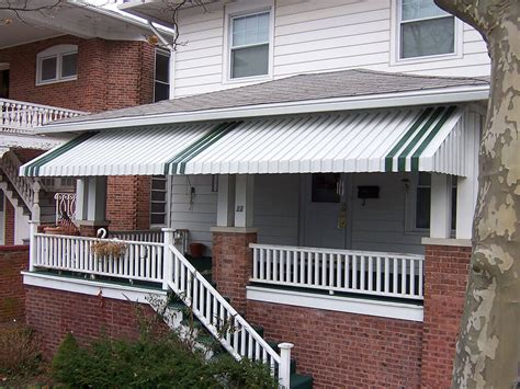 aluminum awnings for home windows doors in cape may nj aluminum awnings gallery