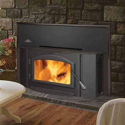 Napoleon Fireplace Insert Reviews by Review Napoleon 1402 Painted Black Wood Burning Fireplace