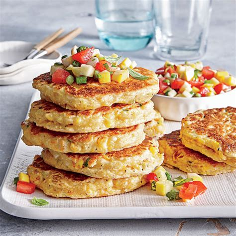 cooking light meal kits fresh corn cakes with summer salsa superfast kid