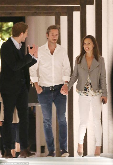 pippa middleton husband pippa middleton and boyfriend james matthews are spotted holding hands in london daily mail online