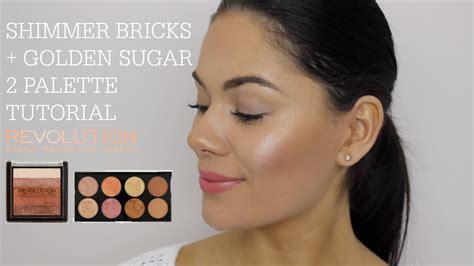 Makeup Revolution Shimmer Brick new makeup revolution shimmer bricks golden sugar 2