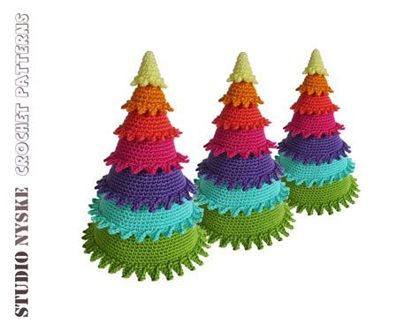rainbow tree decorations decor to turn your home into a crochet