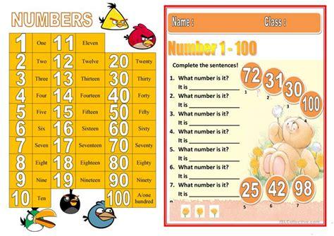 printable english numbers 1 100 free worksheets 187 numbers worksheets 1 100 free math