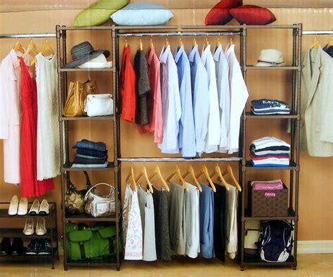 new metal closet organizer bronze finish slat shelves ebay