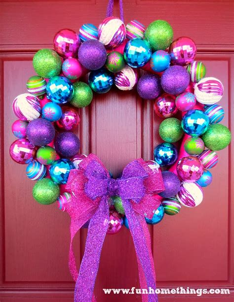 a very special christmas ornament wreath fun home things