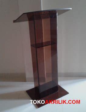 Podium Akrilik Mimbar Akrilik Acrylic Lectern Pd02 category podium mimbar acrylic akrilik acrylic display