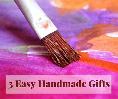 Easy Handmade Gifts - 3 easy gift ideas fluster buster
