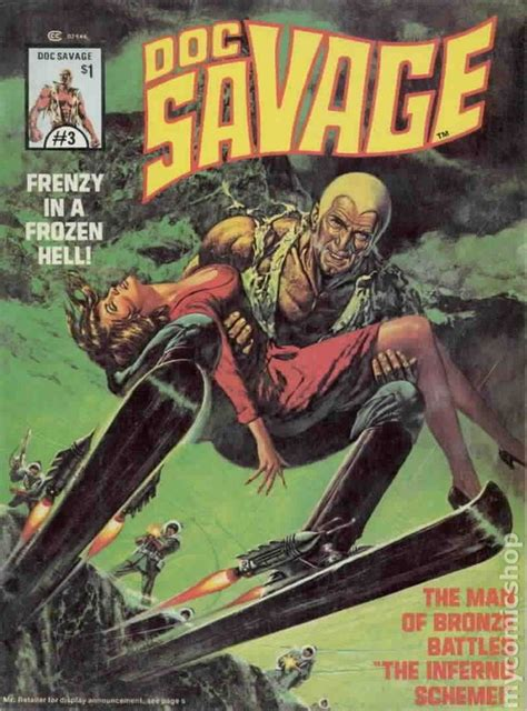 doc savage the ring of books doc savage 1975 marvel magazine comic books