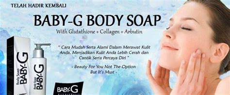 Bibit Collagen Untuk Jerawat sabun baby g soap solusi kulit putih sehat alami